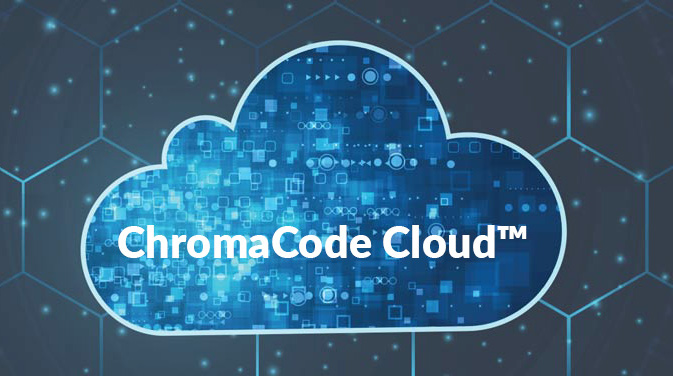 chromacode cloud tm logo and background